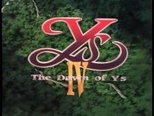 Ys IV: The Dawn of Ys's Cover Image