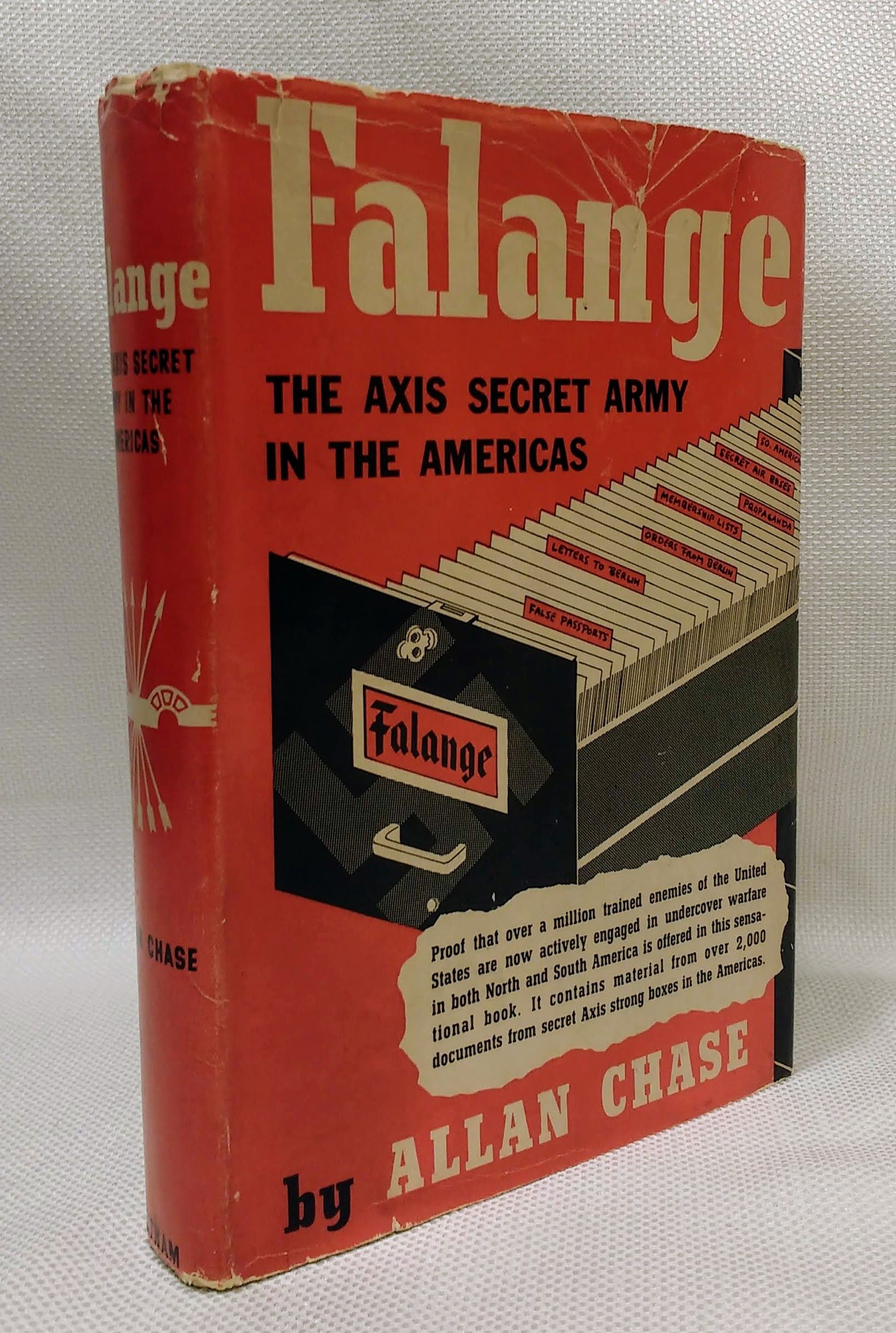 Falange: The Axis Secret Army in the Americas, Chase, Allan
