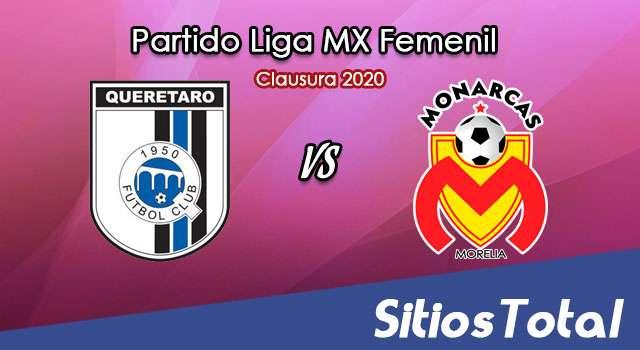 Ver Querétaro vs Monarcas Morelia en Vivo – Liga MX Femenil – Clausura 2020 – Viernes 13 de Marzo del 2020