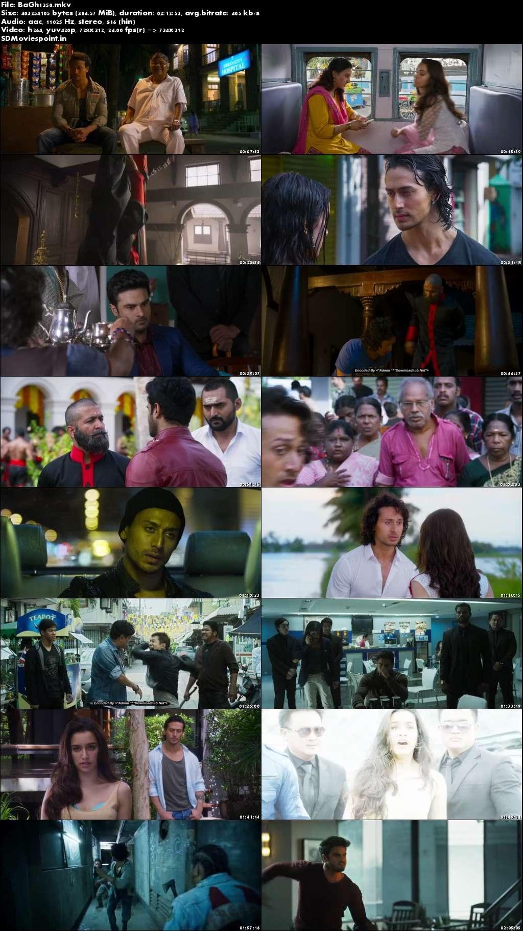 Screen Shot Baaghi (2016) Full Hindi Movie Download Free 300MB
