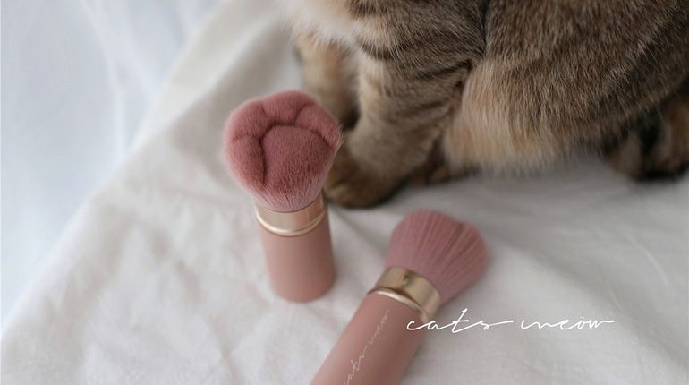 The Cat Paw Makeup Brush for Those Obsessed With Their Cats