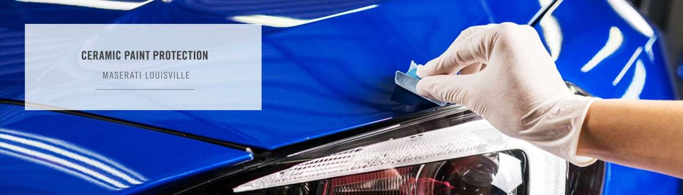 Gliptone GT Quartz Ceramic Coating Paint Protection at Maserati Louisville