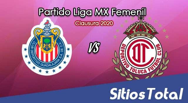 Ver Chivas vs Toluca en Vivo – Liga MX Femenil – Clausura 2020 – Domingo 15 de Marzo del 2020