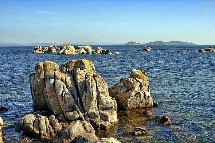 El Parque Nacional de las Islas Atlánticas en A Coruña, Galicia se incluye en la lista Ramsar