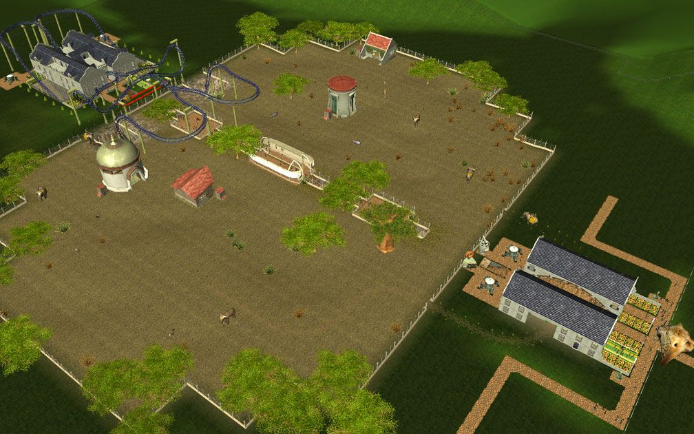 Secondary Image for FlightToAtlantis.net: RCT3 FAQ: Campaign Scenario Directory Specifics: Scrub Gardens