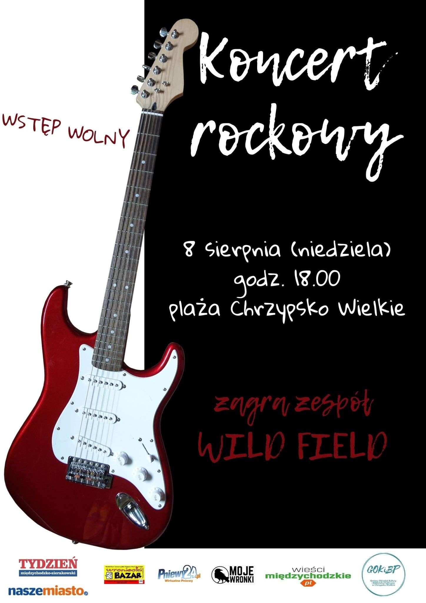 Rock nadJeziorem Chrzypskim
