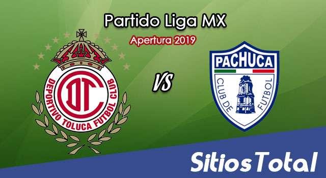 Ver Toluca vs Pachuca en Vivo – Apertura 2019 de la Liga MX
