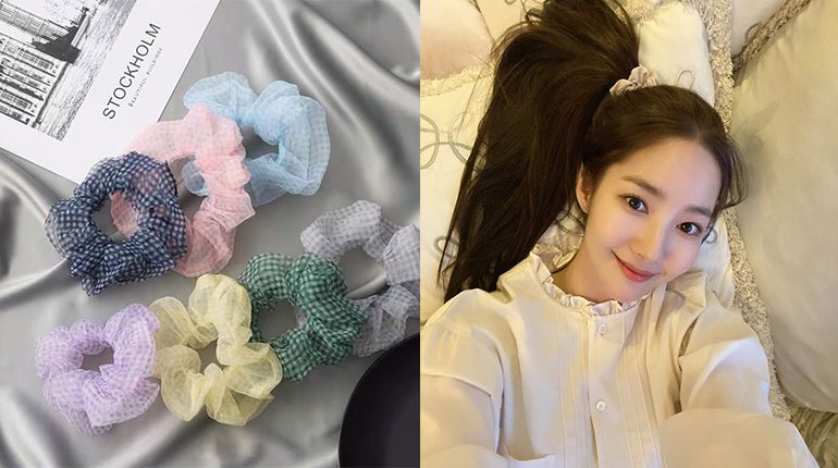 Hair Accessories Trend: Scrunchies Are Back