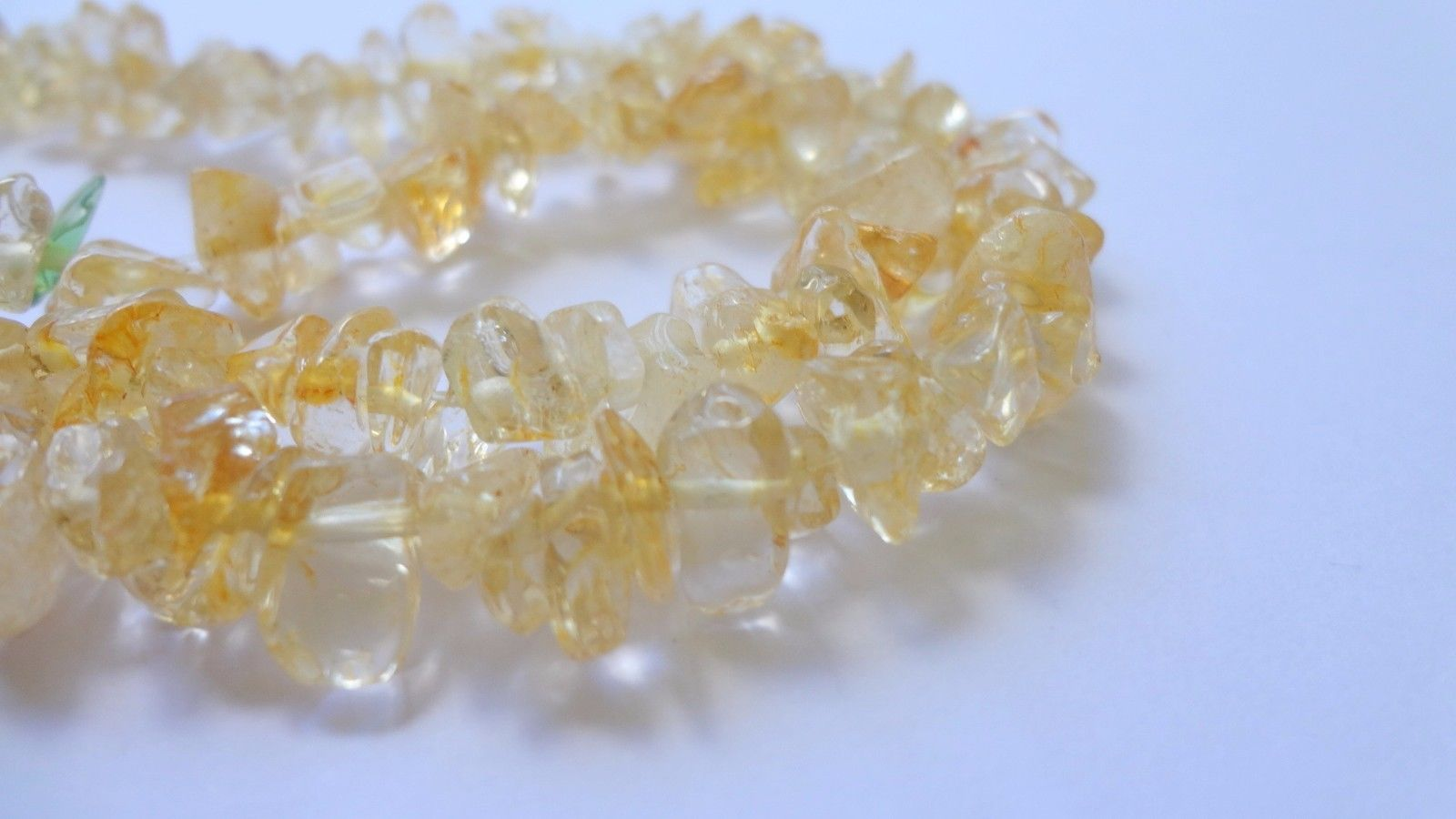 "35/"" Strand Genuine Natural Citrine Chip Gemstone Beads"