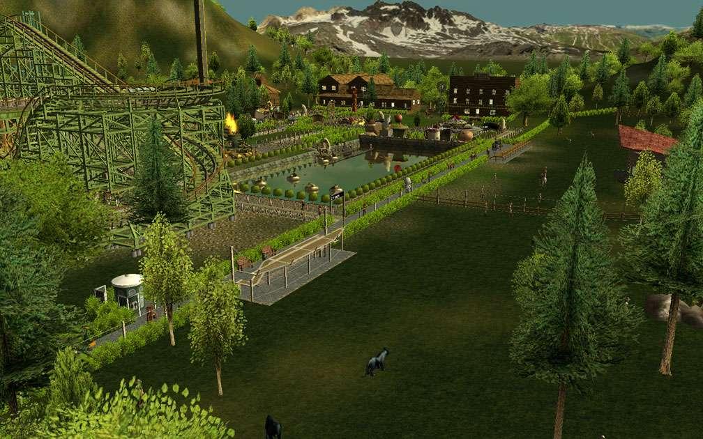 Illustration 03, Third Vista Screenshot, FlightToAtlantis.net - My Downloads, Parks and Coasters - Scenario: VIP Fun