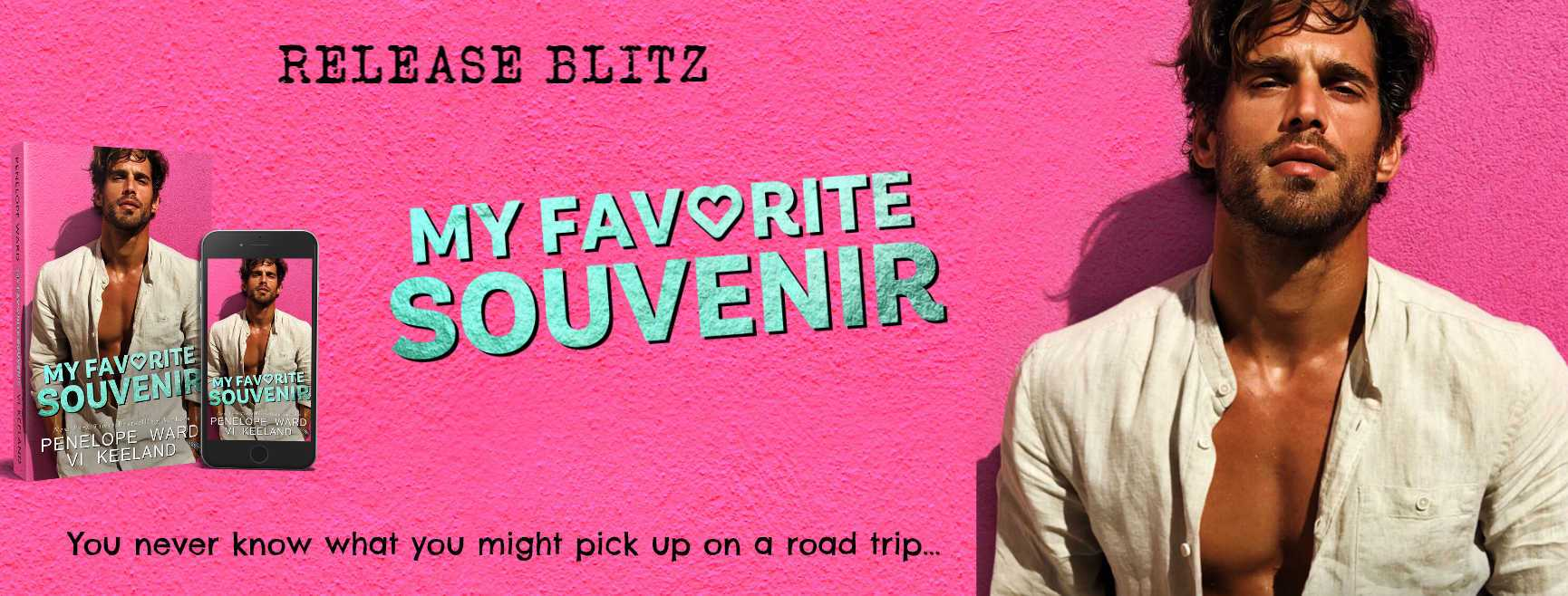 Release Blitz: My Favorite Souvenir by Vi Keeland and Penelope Ward