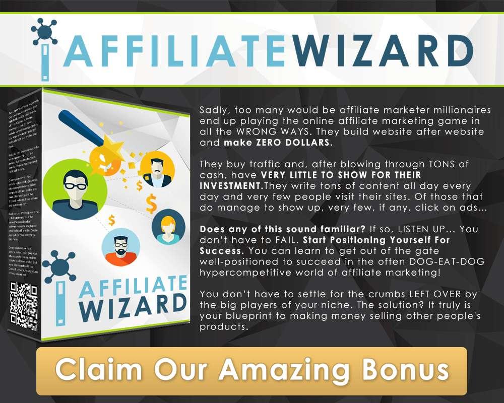 Bonus 1: Affiliate Wizard