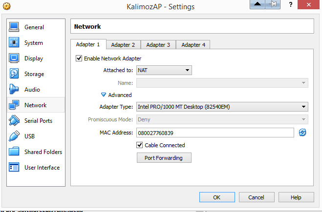Install driver in kali linux for Ralink RT3070