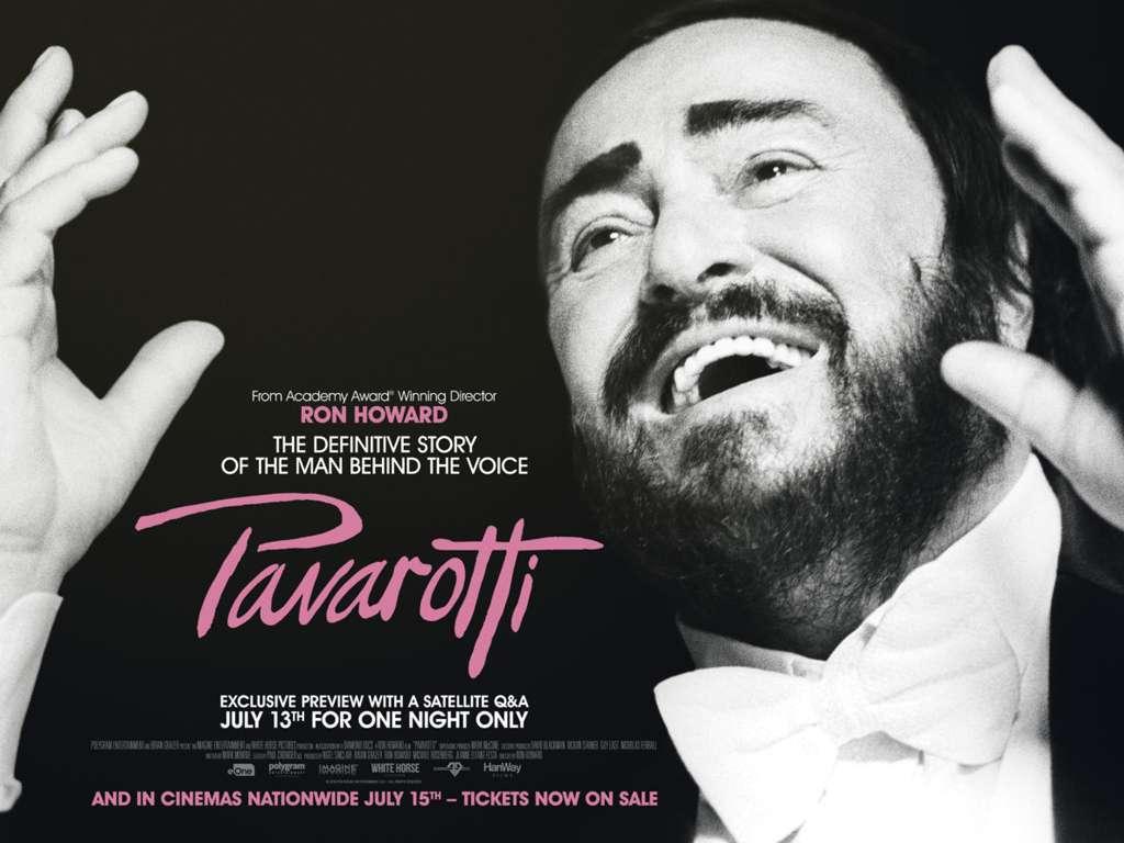 Παβαρότι (Pavarotti) Quad Poster