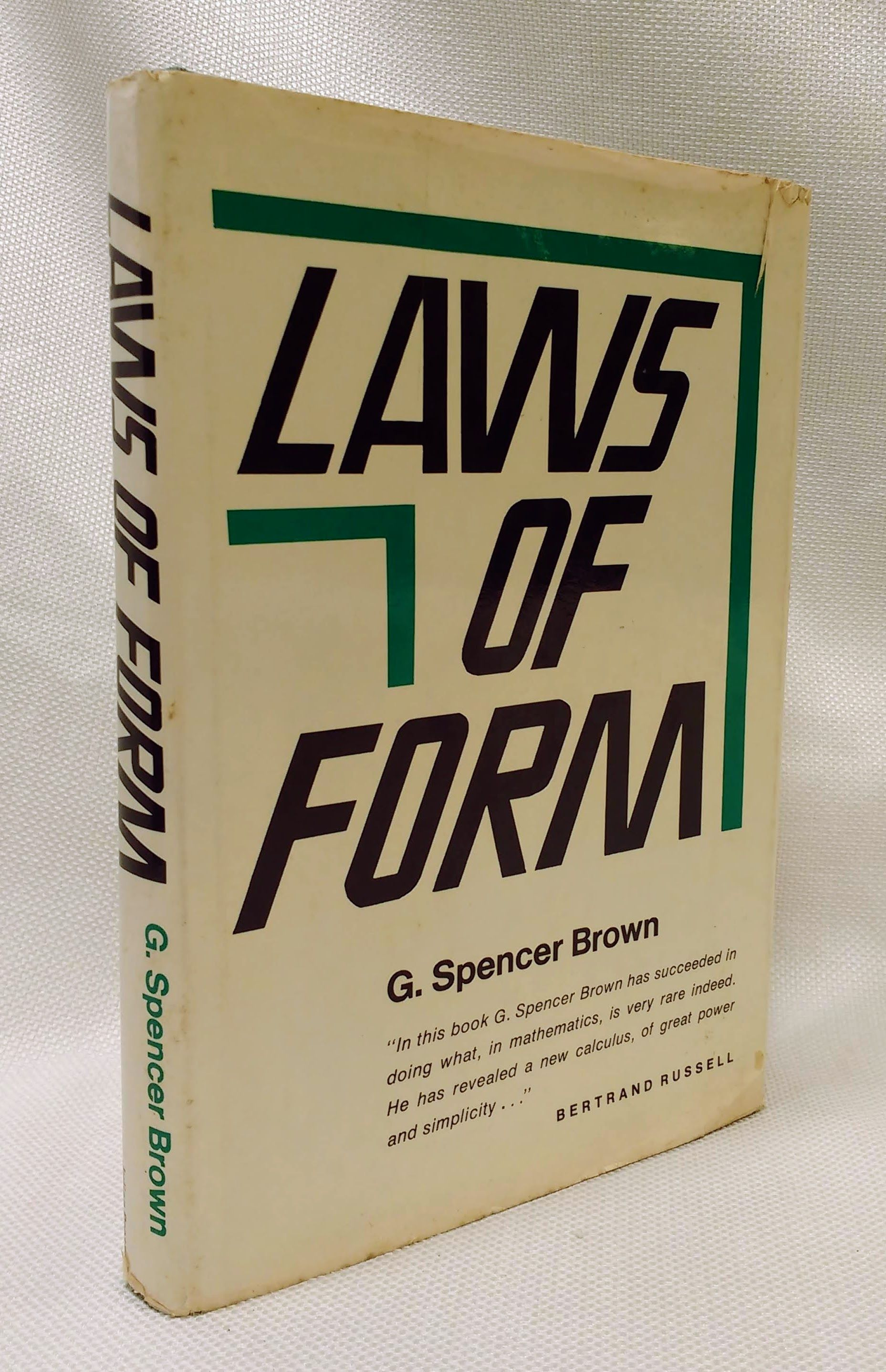 Laws of Form, G. Spencer Brown
