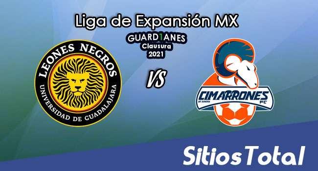 Leones Negros vs Cimarrones de Sonora en Vivo – Canal de TV, Fecha, Horario, MxM, Resultado – J9 de Guardianes Clausura 2021 de la  Liga de Expansión MX