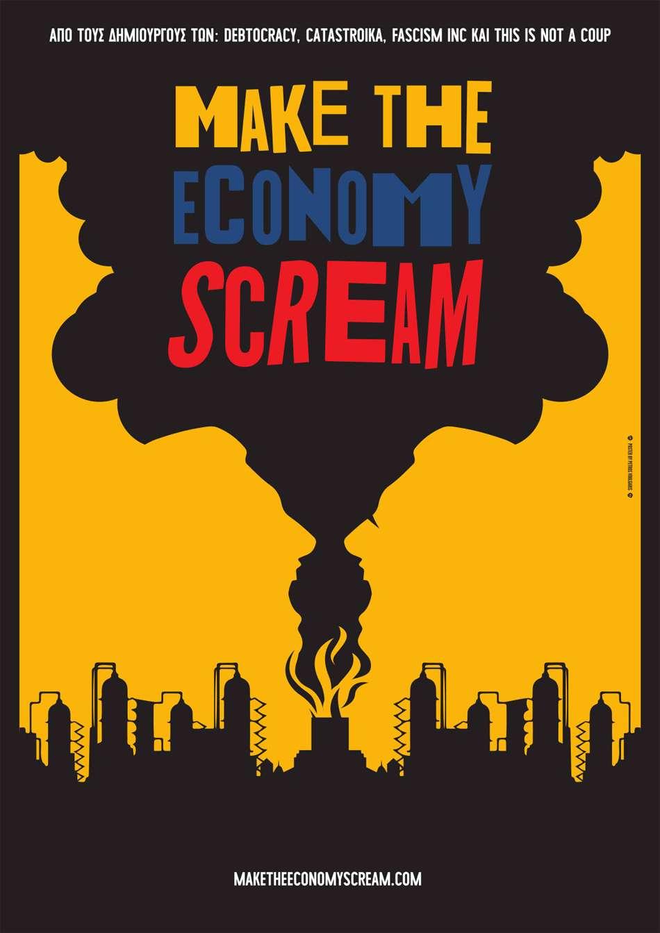 Make the Economy Scream Poster Πόστερ