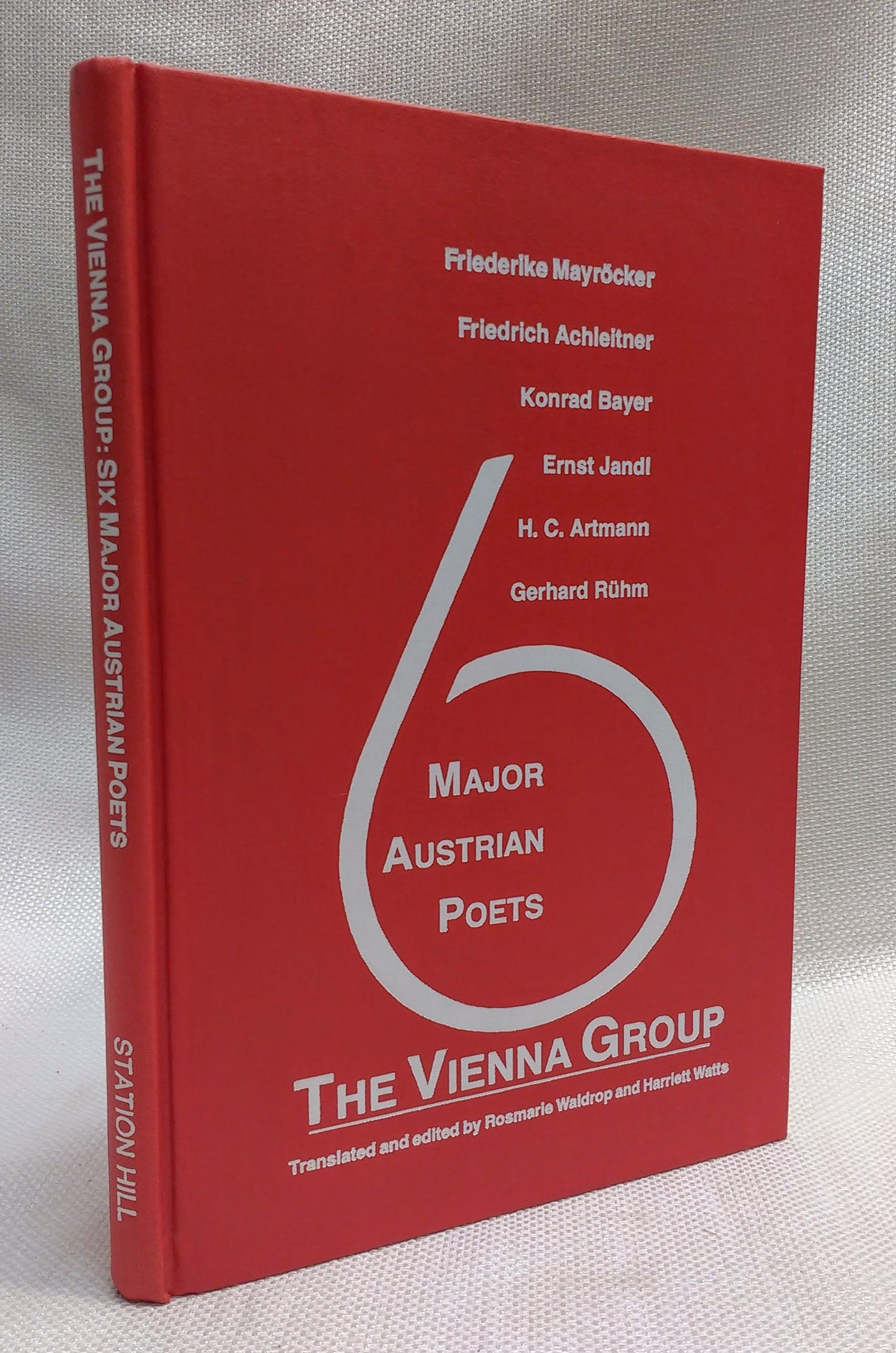 Image for The Vienna Group: Six Major Austrian Poets (English and German Edition)