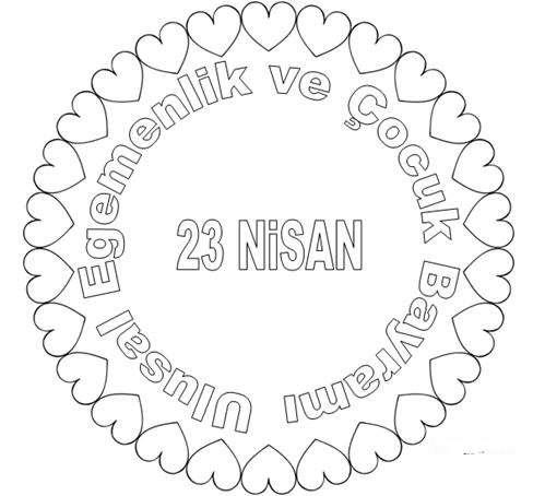 23 Nisan Boyama Sayfalari Forum Aski Turkiye Nin En Eglenceli