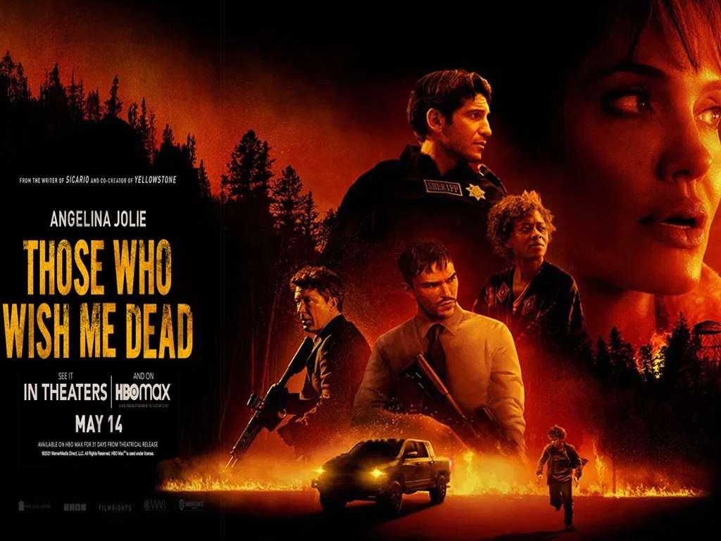 Αυτοί που Εύχονται τον Θάνατο μου (Those Who Wish Me Dead) Quad Poster