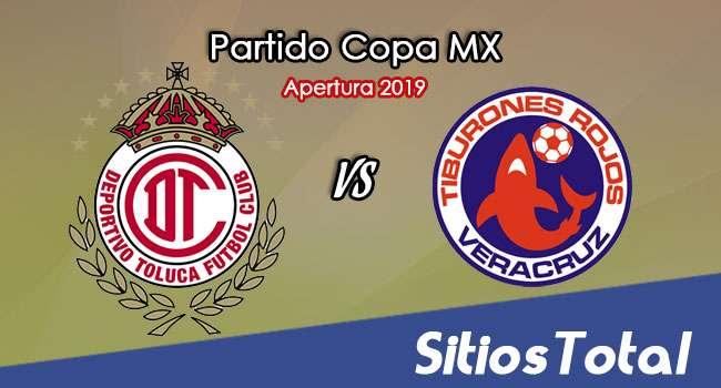 Toluca vs Veracruz en Vivo – Copa MX – Miércoles 2 de Octubre del 2019