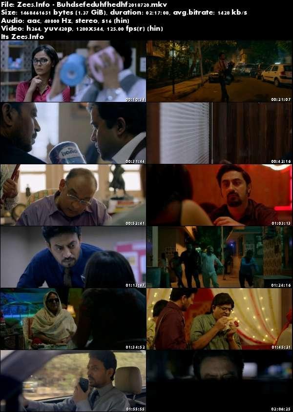 Blackmail 2018 Hindi HDRip 720p x264 AAC 1.3GB