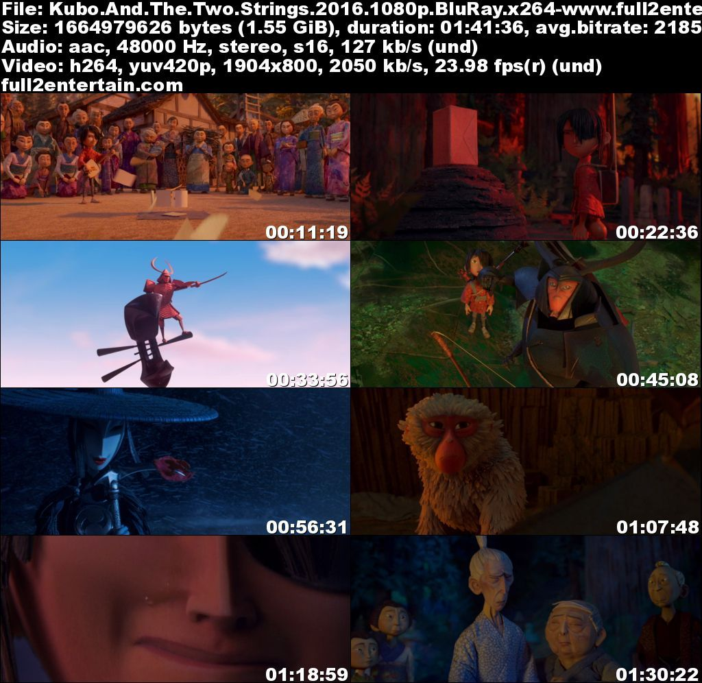 Kubo and the Two Strings 2016 Full Movie Download