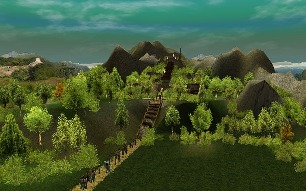 Lead Image for FlightToAtlantis.net: RCT3 FAQ: Campaign Scenario Directory Specifics: Mountain Spring
