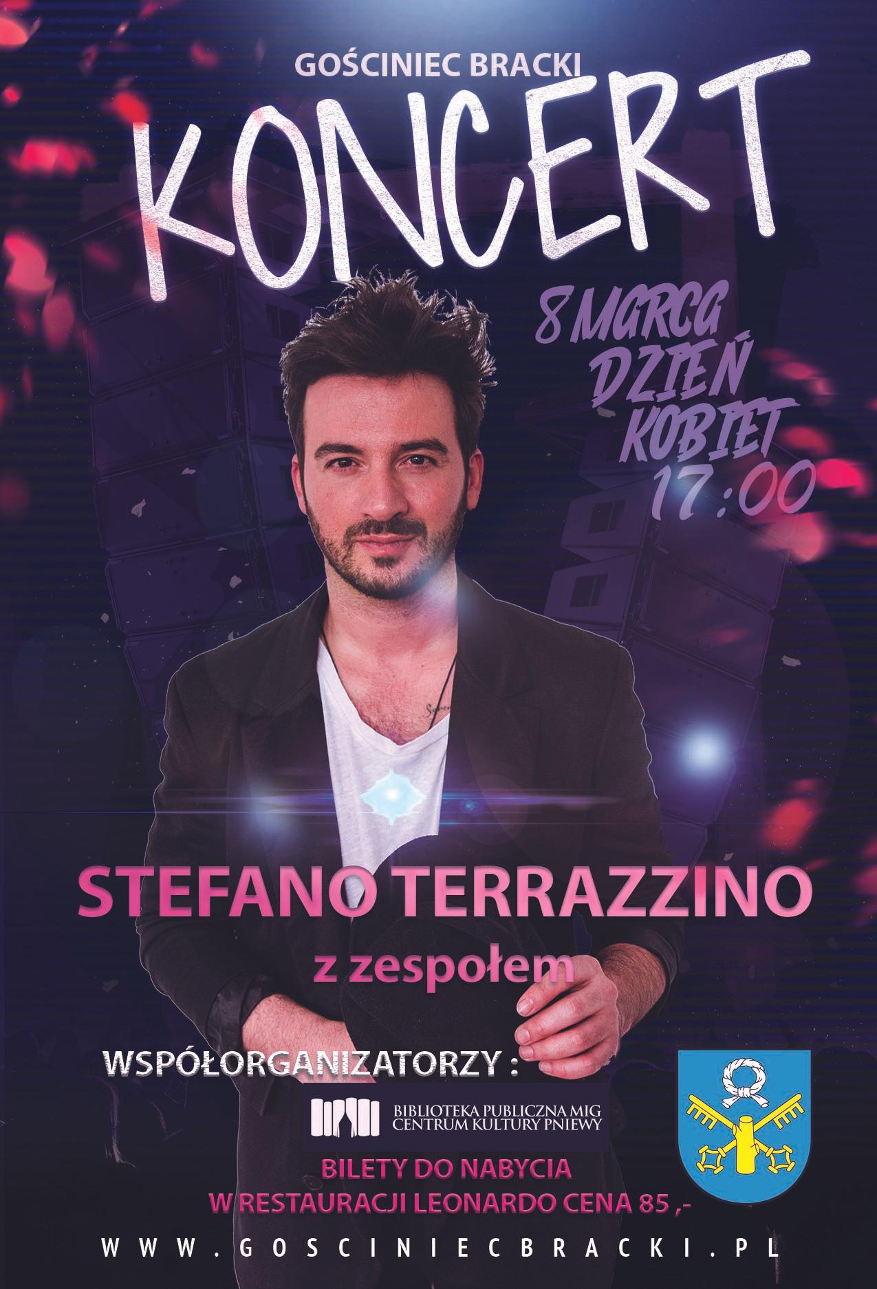 Koncert Stefano Terrazzino