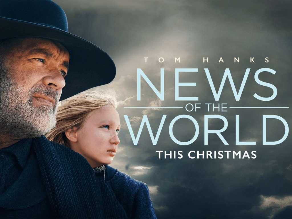 Του Κόσμου τα Νέα (News Of The World) Quad Poster