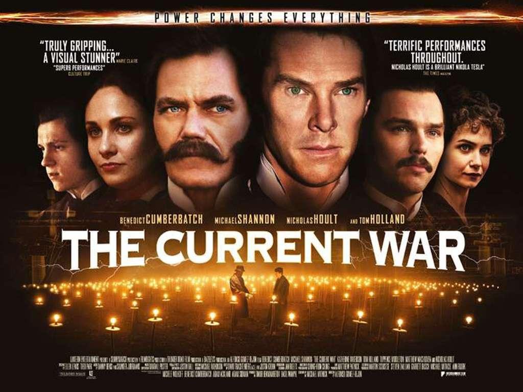 Η Μάχη της Επικράτησης (The Current War) Quad Poster