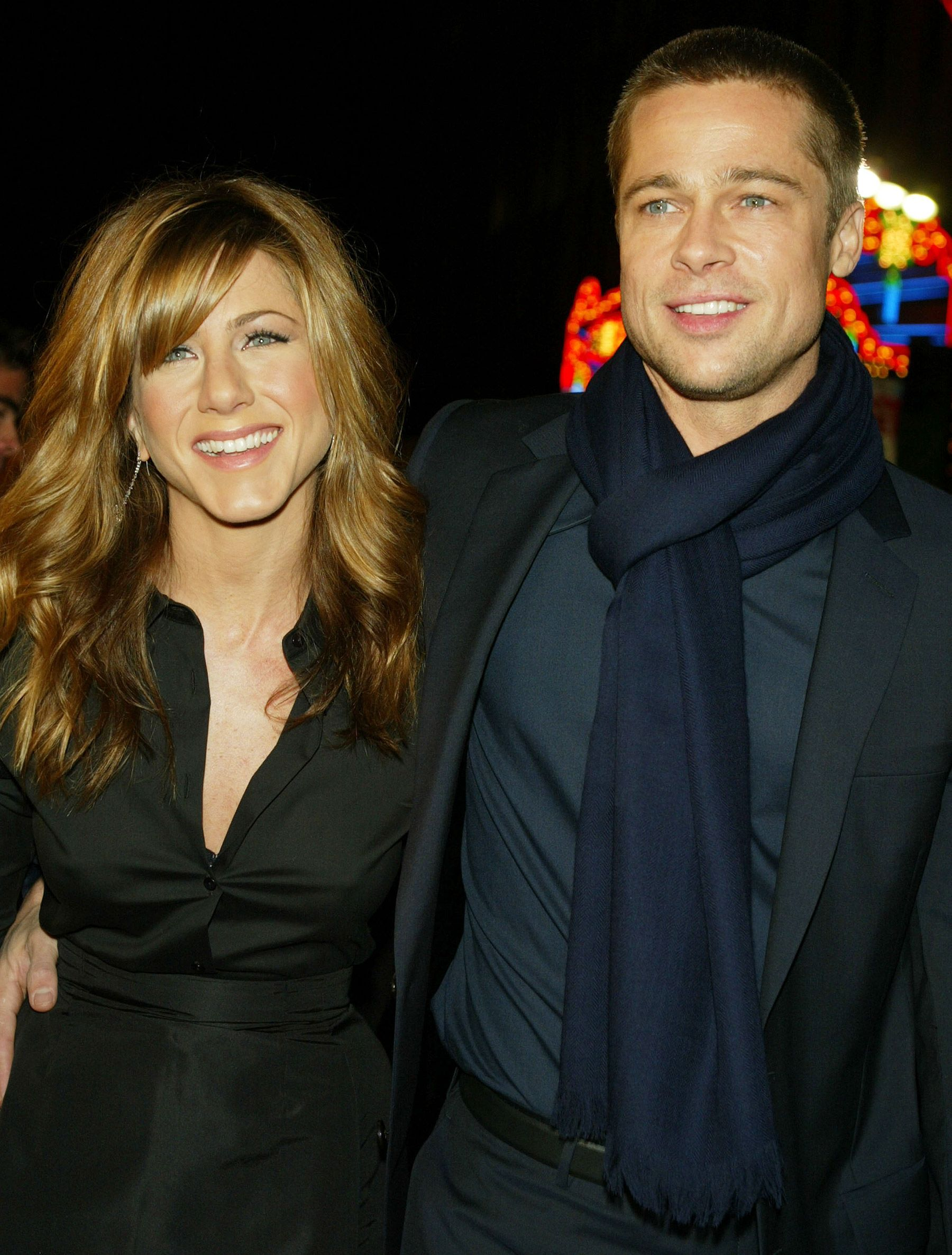 Brad Pitt and Jennifer Aniston
