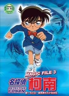 Detective Conan Magic File 3: Shinichi and Ran - Memories of Mahjong Tiles and Tanabata's Cover Image