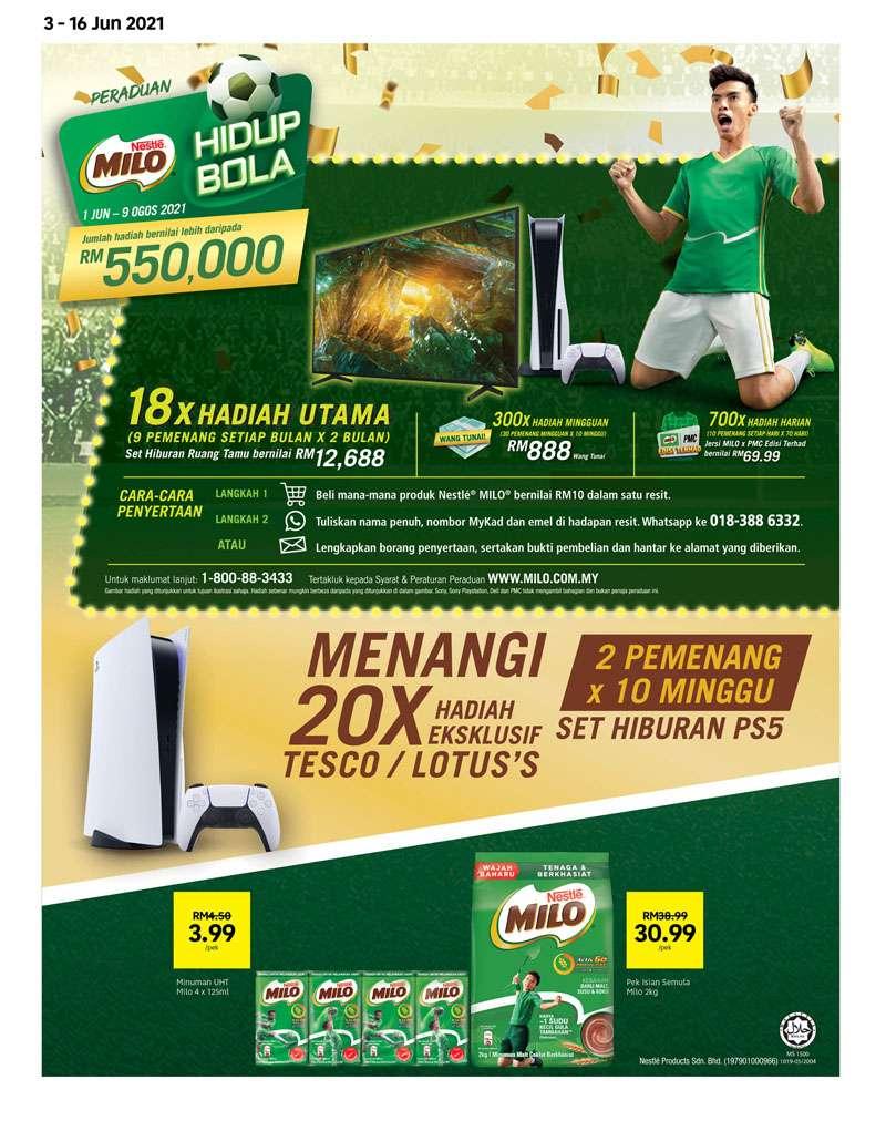 Tesco Catalogue(3 June2021 - 16 June 2021)