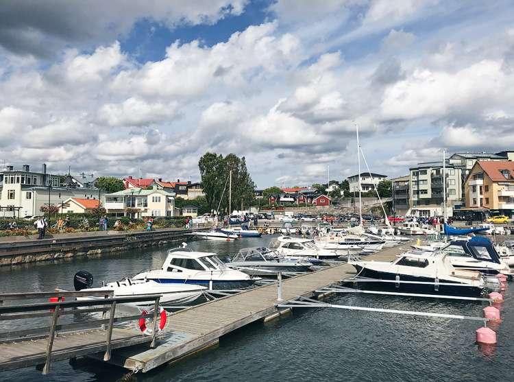 Один летний шведский день очень, можно, несколько, время, лодках, лодка, примерно, человек, просто, через, всего, салат, самом, когда, сильно, както, Ваксхольма, справа, именно, минут
