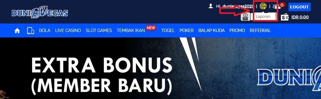 Cara Ambil bonus