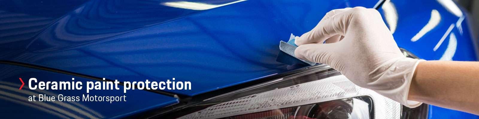 Porsche Paint Protection   Gliptone Quartz Ceramic Coating in Louisville