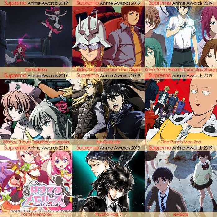 Eliminatorias Nominados a Mejor Anime de Ciencia Ficción 2019
