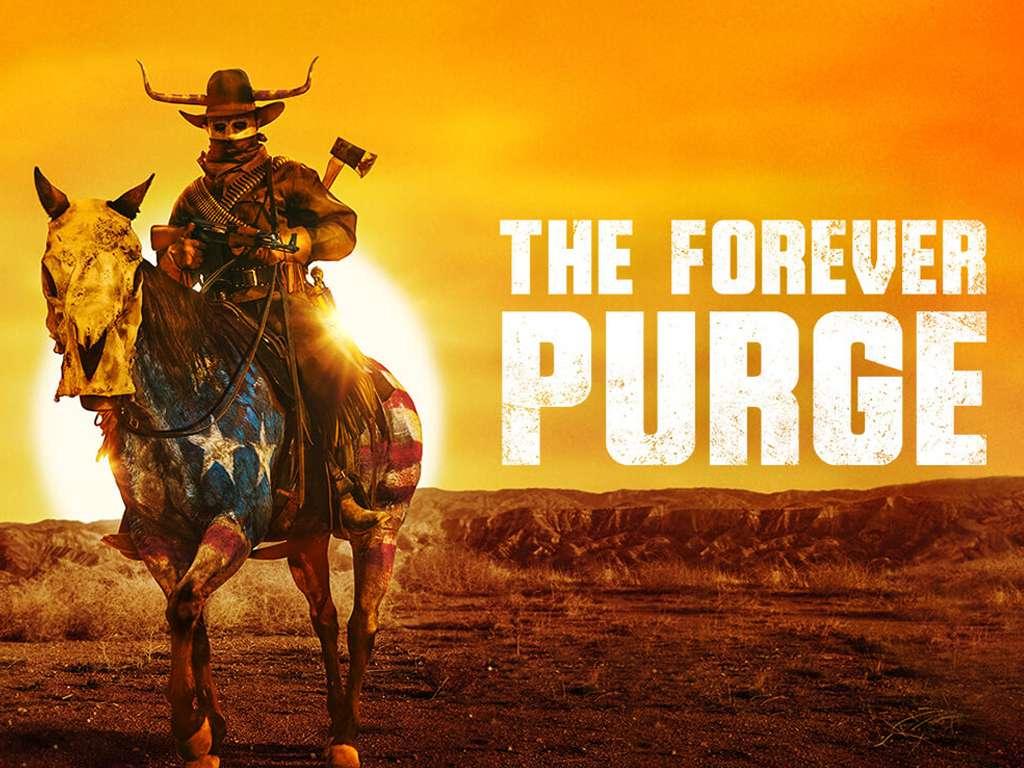Η Αιώνια Κάθαρση (The Forever Purge) Quad Poster