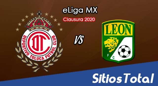 Toluca vs León en Vivo – eLiga MX – Domingo 24 de Mayo del 2020