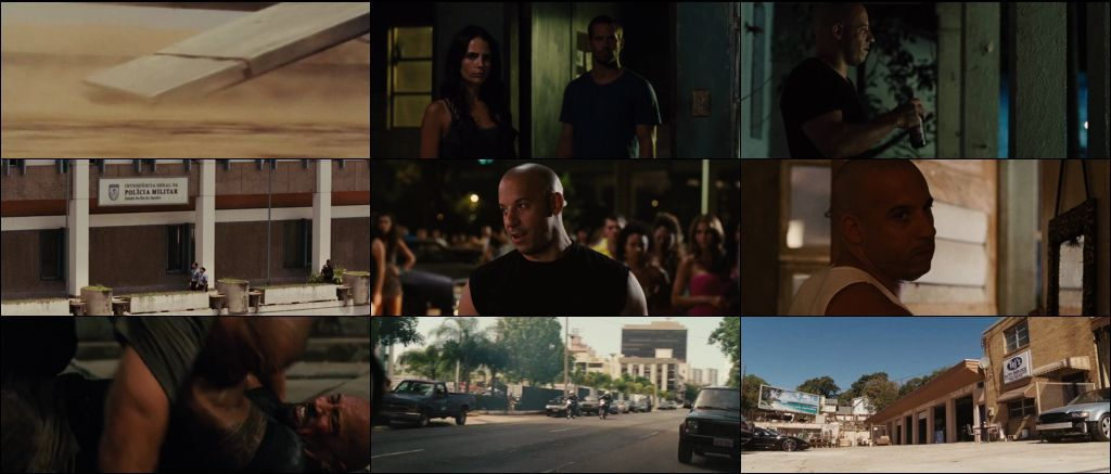 Download Fast Five 2011 Free in Dual Audio 720p BluRay 1Gb