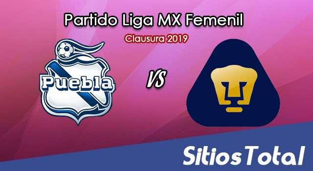 Ver Puebla vs Pumas en Vivo – Liga MX Femenil – Clausura 2019 – Domingo 21 de Abril del 2019