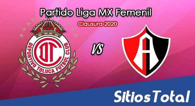 Ver Toluca vs Atlas en Vivo – Liga MX Femenil – Guardianes – Sábado 31 de Octubre del 2020