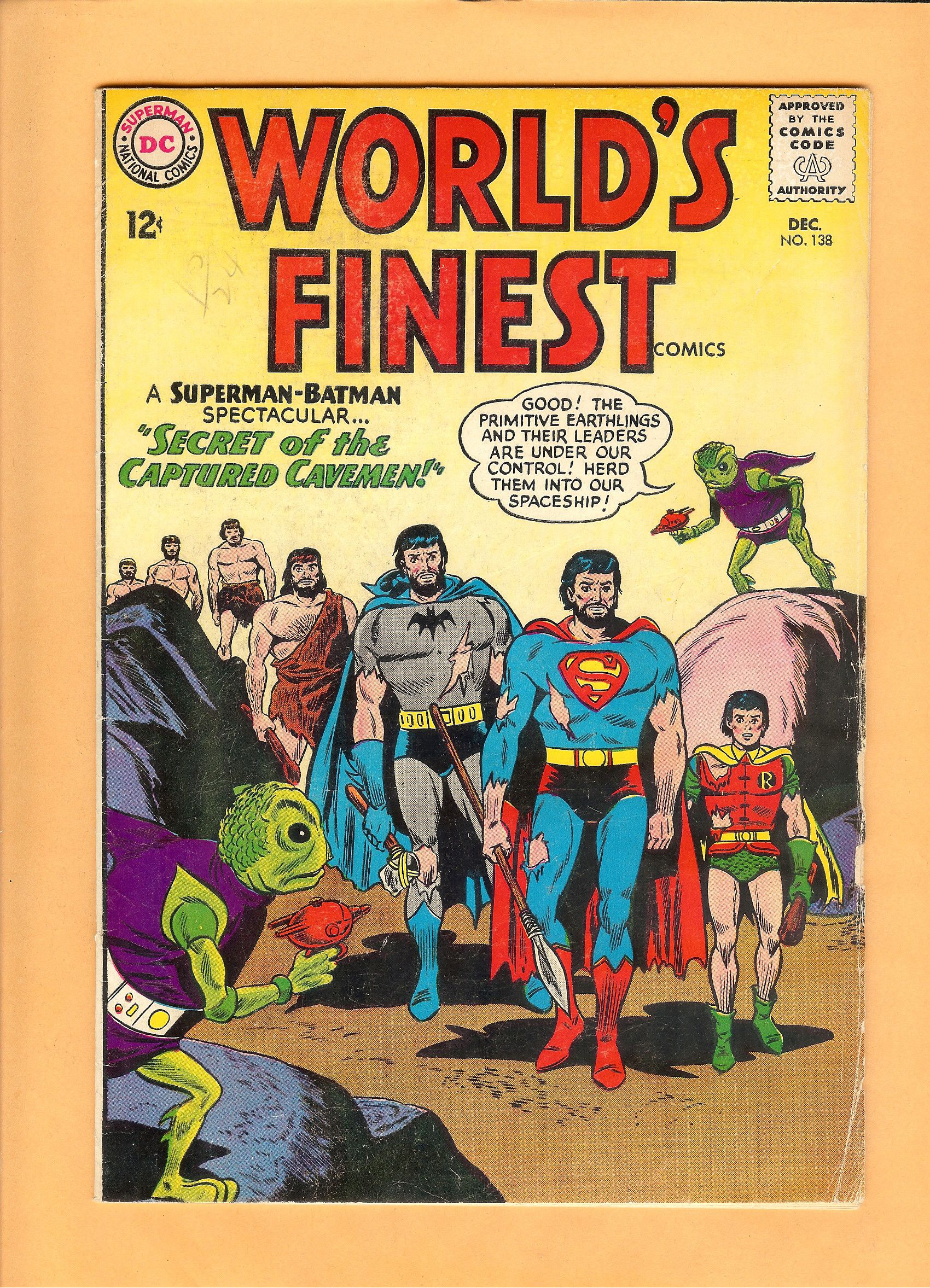 World/'s Finest #274 FN 6.0 1981 Stock Image
