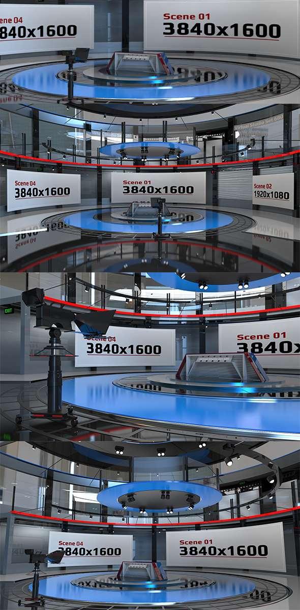Virtual Studio Set 680 - 3