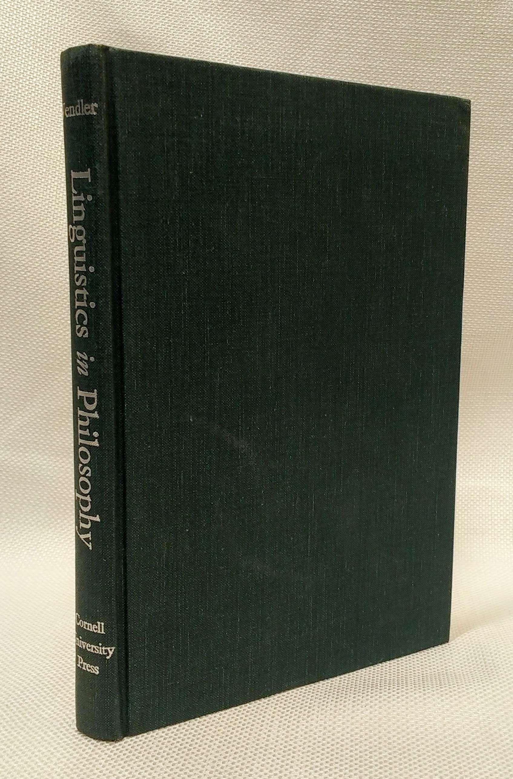 Linguistics in Philosophy, Vendler, Zeno