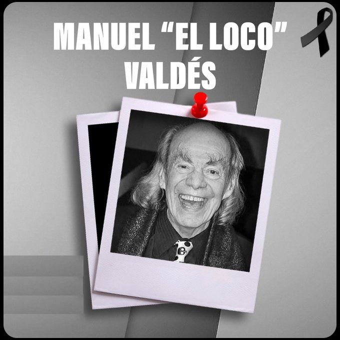 """Fallece el comediante Manuel """"Loco"""" Valdés, papá de Cristian Castro"""