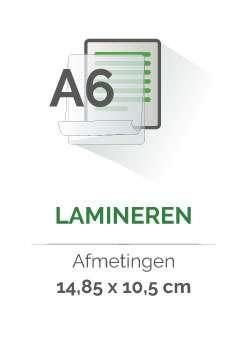 lamineren a6