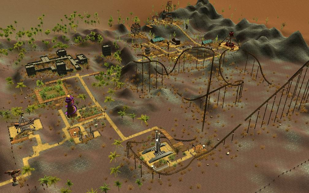 Secondary Image for FlightToAtlantis.net: RCT3 FAQ: Campaign Scenario Directory Specifics: The Money Pit