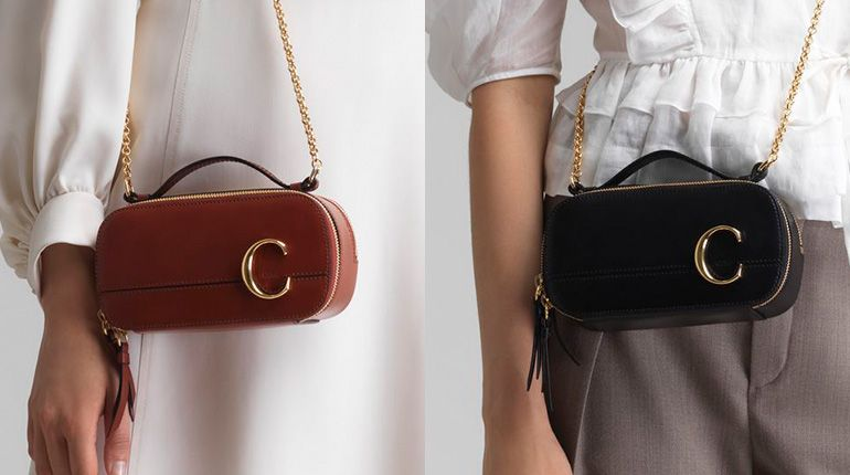 Add Style Points With Chloé C Mini Vanity Bag